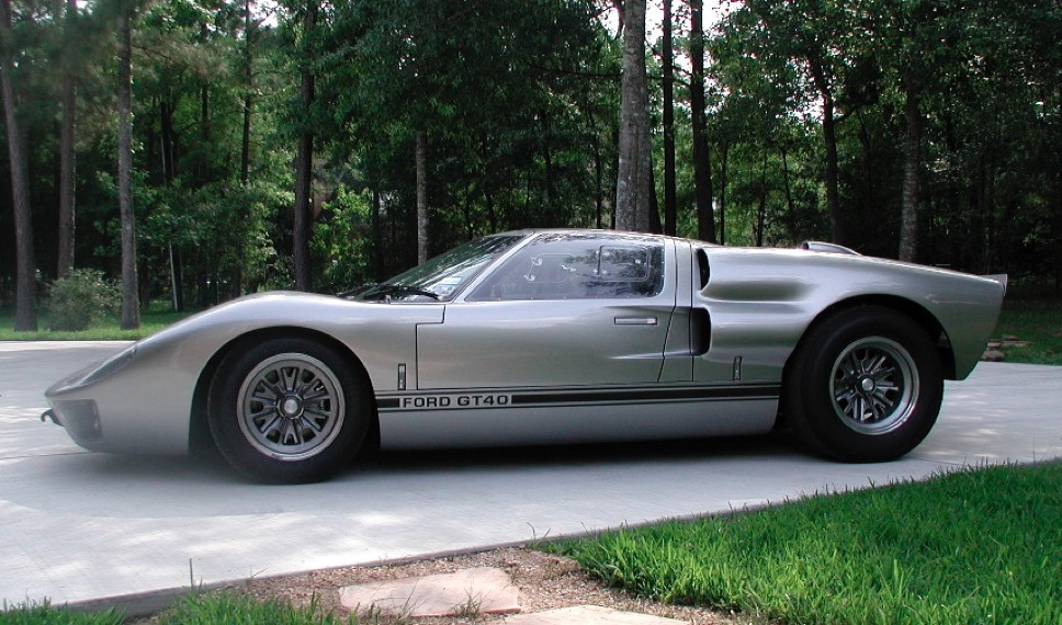 superformance gt40 mk ii gt40p2155 p5260041jpg the superformance replica of a 1966 ford gt40 mkii